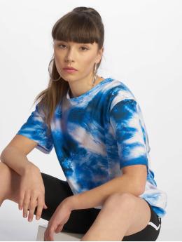 NA-KD T-Shirty Aquarelle Printed niebieski