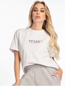 NA-KD T-skjorter Details  hvit