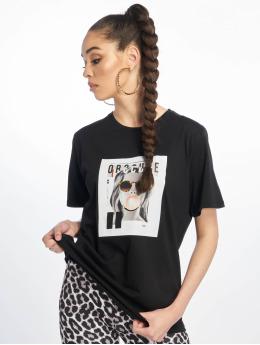 NA-KD T-skjorter Oversized svart