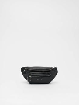 NA-KD Taske/Sportstaske Zipper Detail Fanny sort