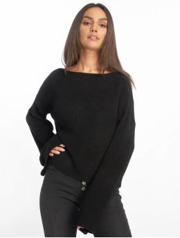 NA-KD Trøjer Knitted Long Sleeve sort