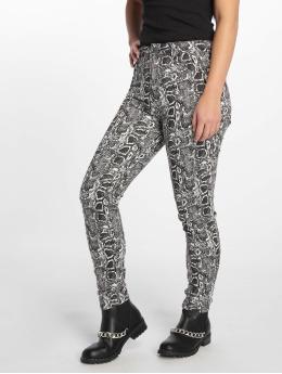 NA-KD Tynne bukser Snake Printed  hvit