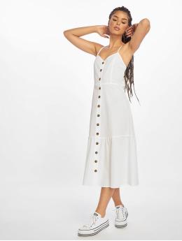NA-KD Vestido Tie Back Broiderie Anglais blanco