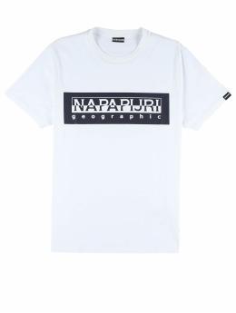 Napapijri Camiseta Sele  blanco