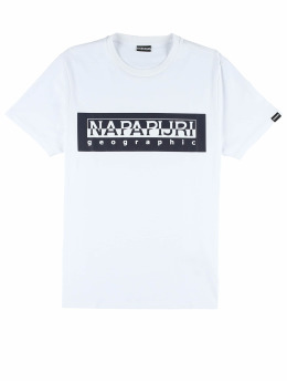 Napapijri t-shirt Sele  wit