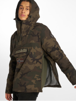 Napapijri Transitional Jackets Rainforest kamuflasje