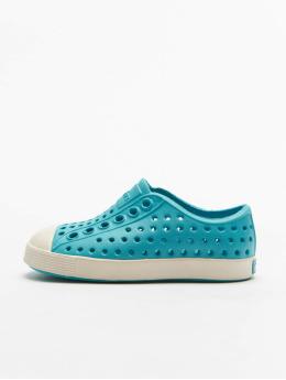 Native Shoes Tøysko Jefferson Child blå