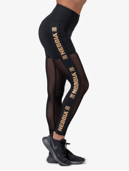 Nebbia Leggings/Treggings Mesh  black