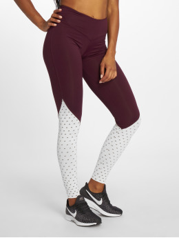 Nebbia Leggings/Treggings High Waist fioletowy
