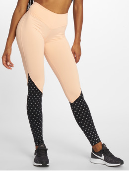 Nebbia Leggings/Treggings High Waist rózowy