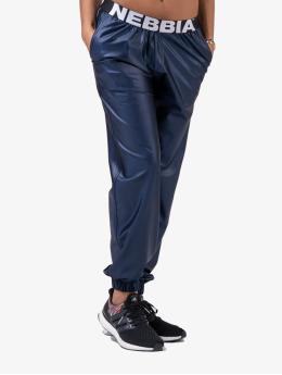 Nebbia Pantalón deportivo Metallic  azul