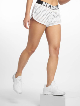 Nebbia Performance Shorts Transparent white