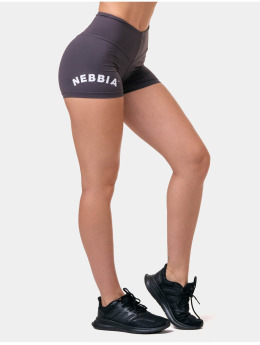 Nebbia Shorts Classic Hero High Waist  brun