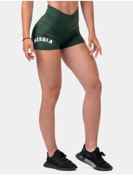 Nebbia Shorts Classic Hero High Waist  grøn