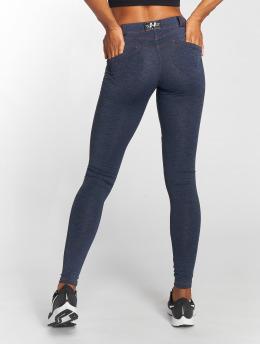 Nebbia Skinny Jeans Bubble Butt modrý