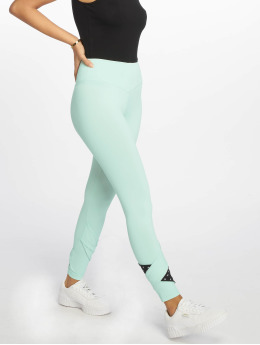 Nebbia Sportleggings Asymmetrical 7/8 groen