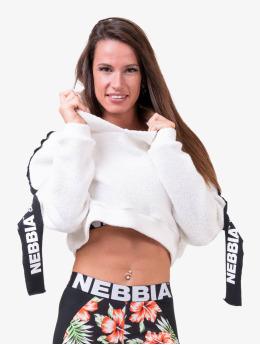Nebbia Sweat capuche Rebel Hero blanc