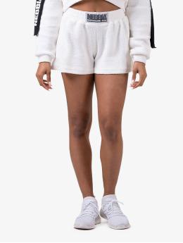 Nebbia Szorty Shorts  bialy