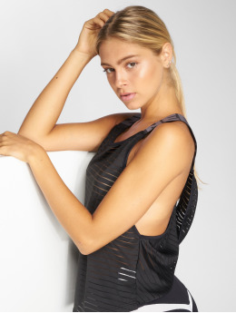Nebbia Top Wrap Up schwarz