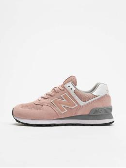 New Balance Snejkry WL574  růžový