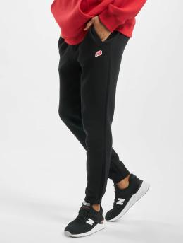 New Balance Spodnie do joggingu MP93512 czarny