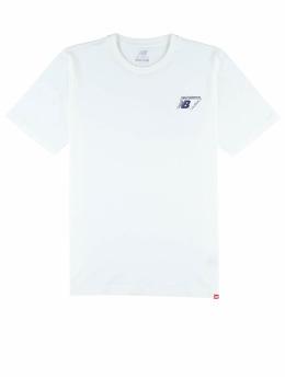 New Balance T-shirt Essentials Classic Lock vit