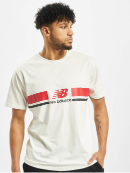 New Balance t-shirt MT93550 wit