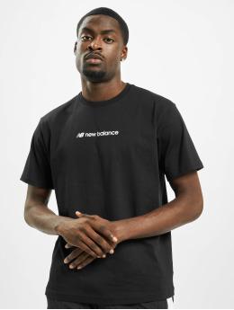 New Balance t-shirt MT93517 zwart