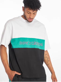 New Balance T-Shirty MT93506 bialy
