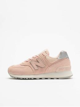 New Balance Tennarit WL574 vaaleanpunainen