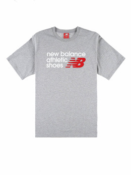 New Balance Tričká Essentials Normal  šedá