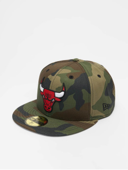 New Era Бейсболка NBA Chicago Bulls 59Fifty камуфляж