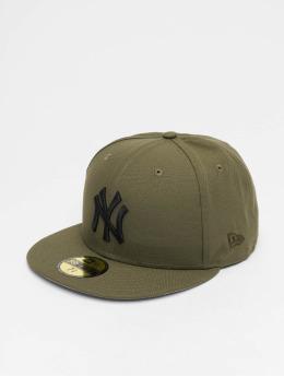 New Era Бейсболка MLB NY Yankees 59Fifty Fitted оливковый