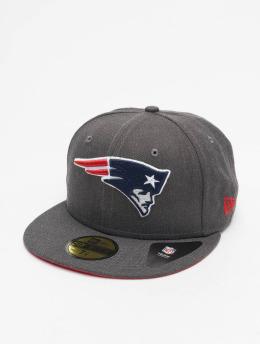 New Era Бейсболка NFL New England Patriots Essential 59Fifty серый