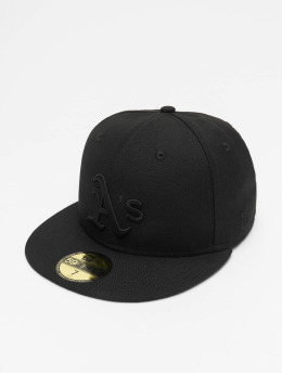 New Era Бейсболка MLB Oakland Athletics 59Fifty черный