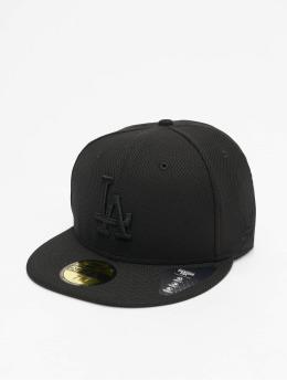 New Era Бейсболка MLB LA Dodgers Diamond Era 59Fifty черный