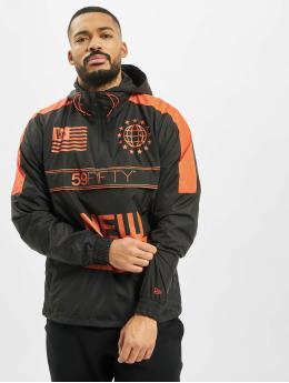 New Era Демисезонная куртка Graphic  черный