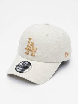 New Era Кепка с застёжкой Jersey Ess Los Angeles Dodgers 9Forty бежевый