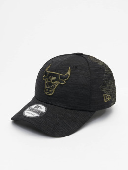 New Era Кепка с застёжкой NBA Chicago Bulls Engineered Fit 9Forty черный