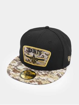 New Era Кепка с застёжкой NFL 21 New Orleans Saints Stretc черный