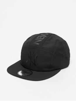 New Era 5 Panel Caps MLB NY Yankees Camper schwarz
