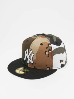 New Era Baseballkeps MLB NY Yankees 59Fifty kamouflage