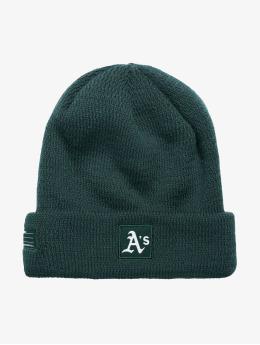 New Era Beanie MLB Oakland Athletics groen