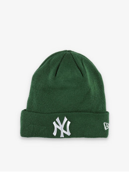 New Era Beanie MLB NY Yankees League Essential Cuff Knit grün