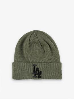 New Era Beanie MLB LA Dodgers League Essenital oliv