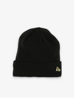 New Era Beanie Metal Flag Knit schwarz