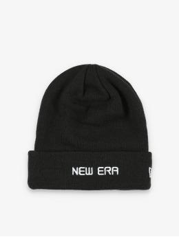 New Era Beanie Essential Cuff Knit svart