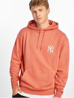 New Era Bluzy z kapturem MLB Pastel NY Yankees czerwony