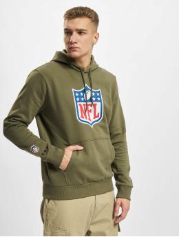 New Era Bluzy z kapturem NFL Generic Logo Camo Wordmark PO  oliwkowy