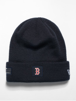 New Era Bonnet MLB Boston Red Sox Sport Knit bleu